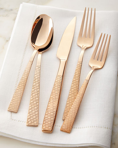 20-Piece Rose Flatware Service