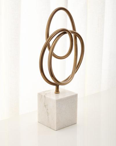 Boucle Knot Sculpture