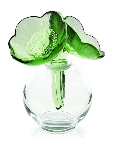 Green Anemones Flacon