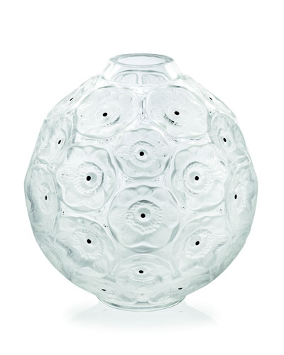 Clear Anemones Bud Vase