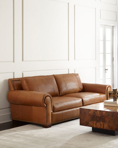 Connors Leather Sofa