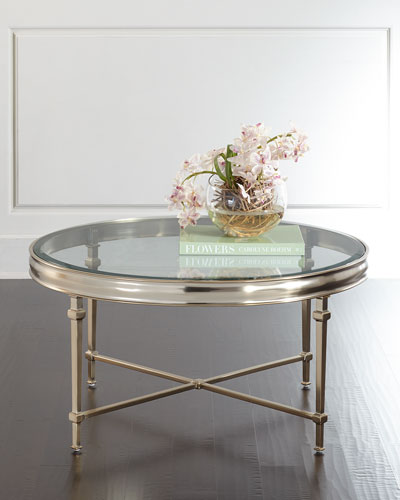 Silas Round Coffee Table