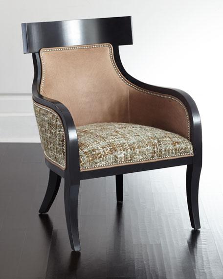 Massoud Calais Tweed Chair