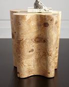 Nico Burl Side Table