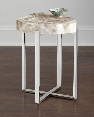 Everest Petrified-Wood Table