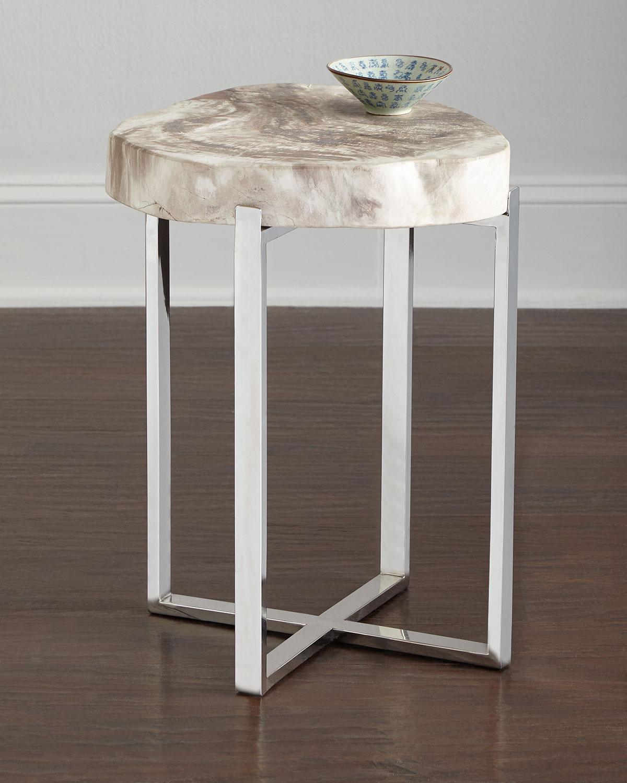 Everest Petrified-Wood Table