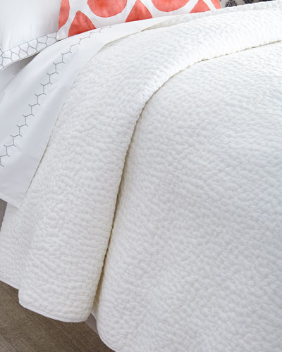 Twin Hand-Stitched Coverlet