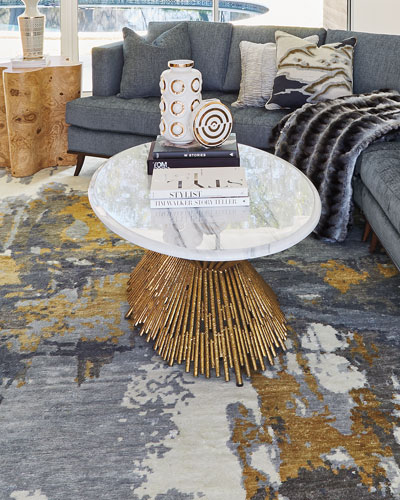Quick Look. Ambella · Sunset Marble Coffee Table