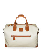 "Firenze Cream 18"" Cargo Duffel Luggage"