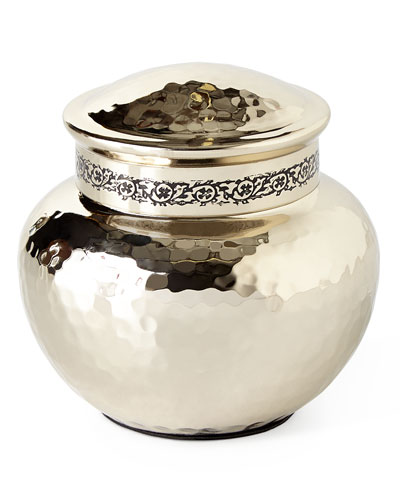 Taxila Small Covered Jar