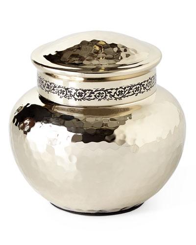 Taxila Small Covered Jar