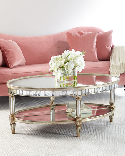 Keene Mirrored Coffee Table