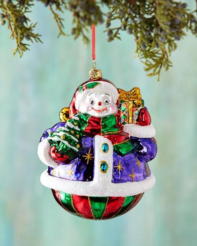 A Festive Pair Christmas Ornament