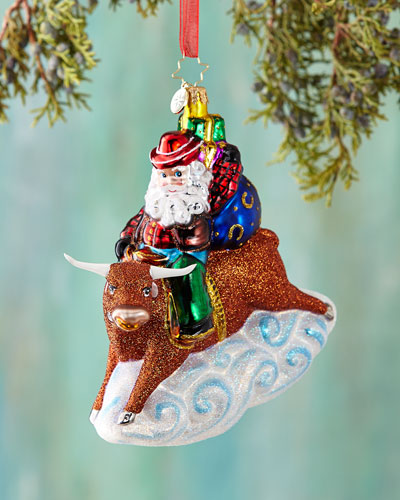 8 Second Nick Christmas Ornament