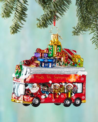 Santa Line Tours Christmas Ornament
