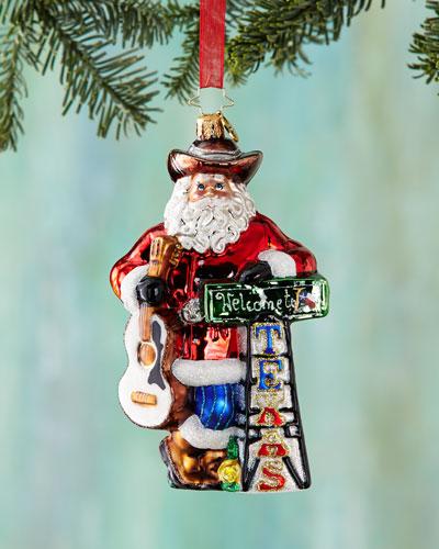 Howdy Y'all Christmas Ornament