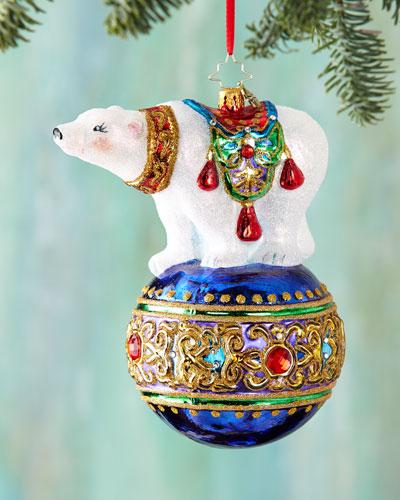Bejeweled Balancer Christmas Ornament