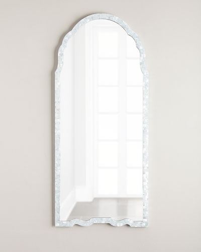 Mother-of-Pearl Framed Mirror