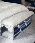 Jacory Eglomise Bench