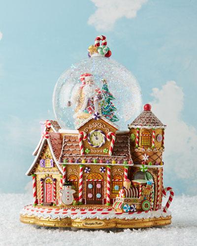 Candy Village Snowglobe