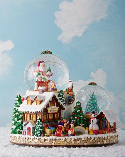 Christmas Village Snowglobe