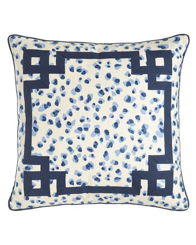 Ellie Leopard-Spot Pillow, 20