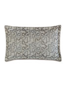 Eastern Accents Prosecco Stone King Embroidered Pillow