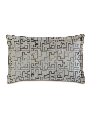 King Ezra Embroidered Pillow