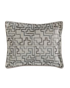 Standard Ezra Embroidered Pillow