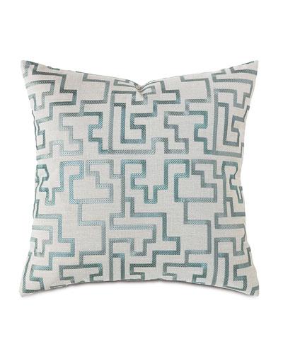 Central Park Fretwork Pillow, 22