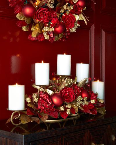 Crimson & Gold Candlerail