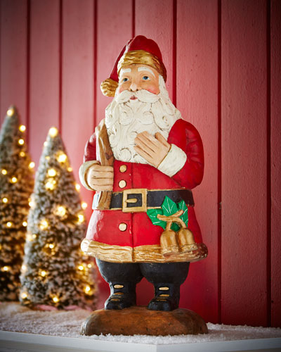 Standing Santa Figure