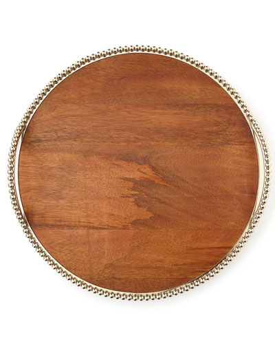 Loria Round Platter with Handles