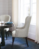 Bernhardt Pair of Sutton House Dining Arm Chairs
