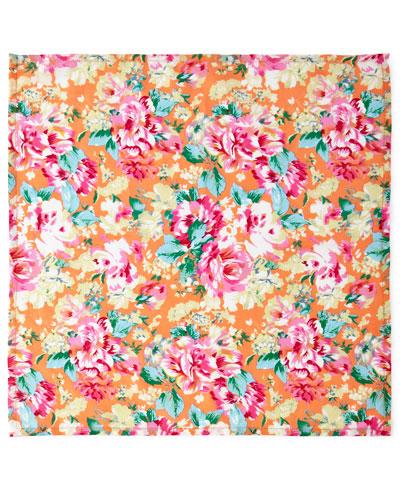 Floral-Print Napkins, Set of 4