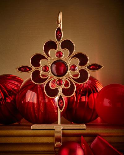 Trudel Crimson Christmas Stocking Holder
