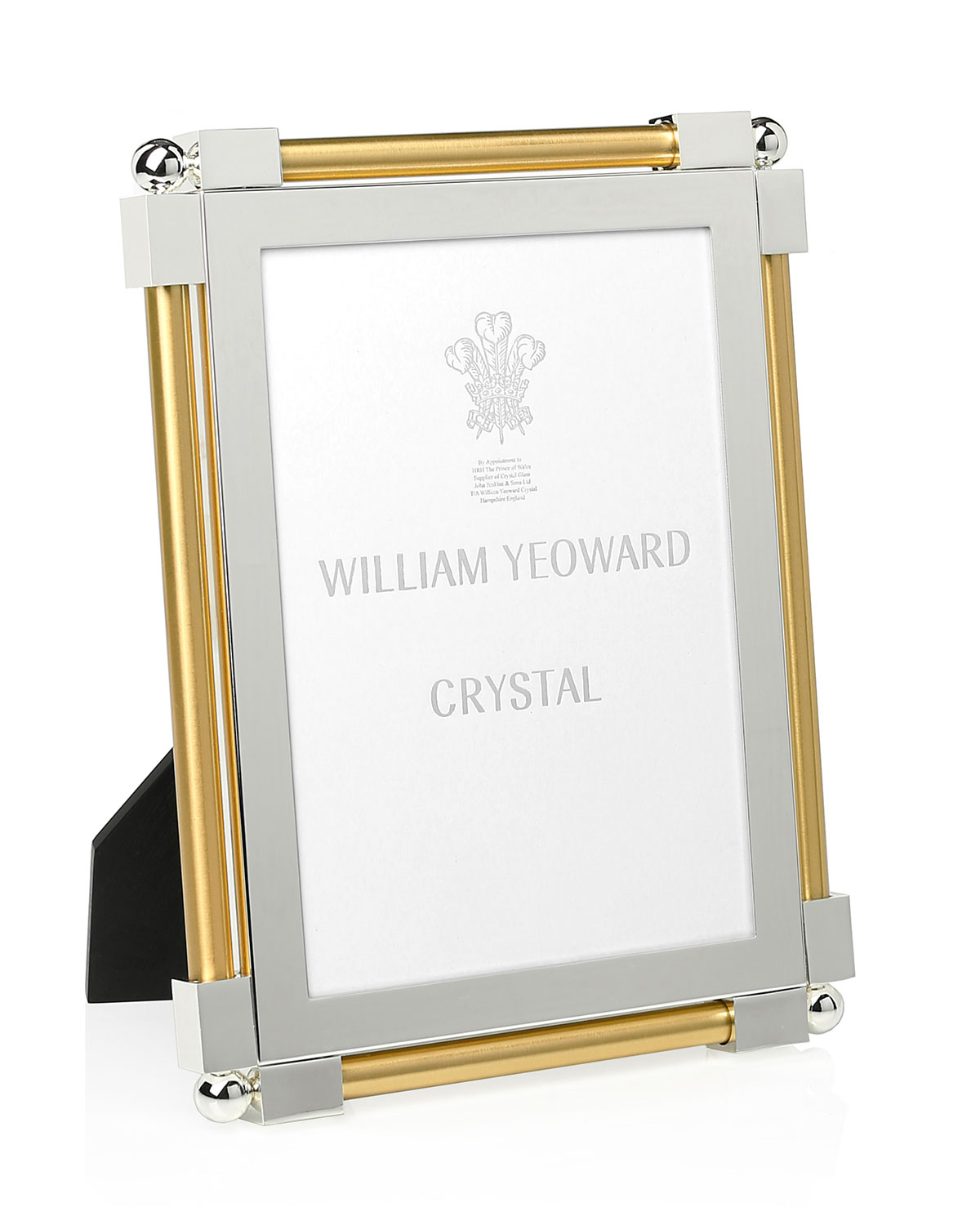 """William Yeoward Picture frames CLASSIC GOLD-TONE 5"""" X 7"""" PICTURE FRAME"""