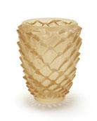Gold Agave Vase