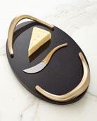 Eco Cheese Board with Knife