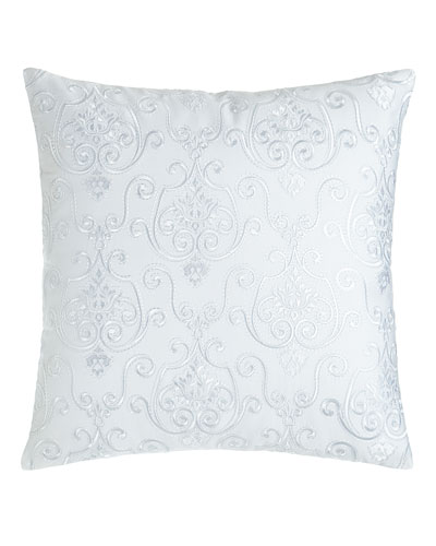 Lara Embroidered Pillow, 16