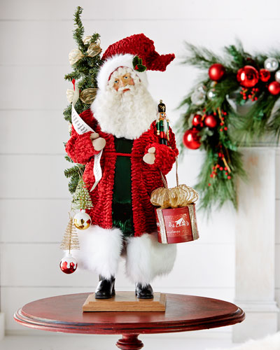 Old Fashion Holiday Santa Figure