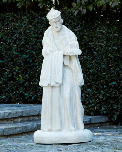 King Gaspar Outdoor Figure