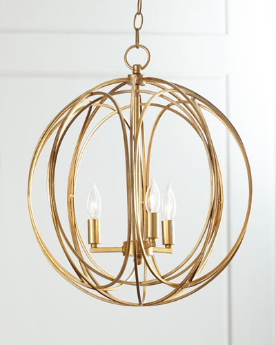 Ofelia Large 3-Light Pendant