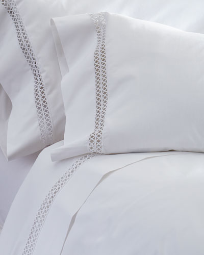 Queen Emilia 210TC Fitted Sheet