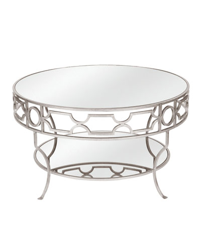 Ava Mirrored Coffee Table