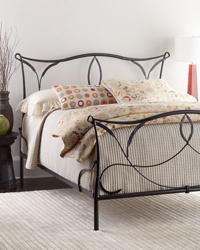 Burton Iron Queen Bed