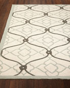 """Truly Divine Outdoor Rug, 5' x 7'6"""""""