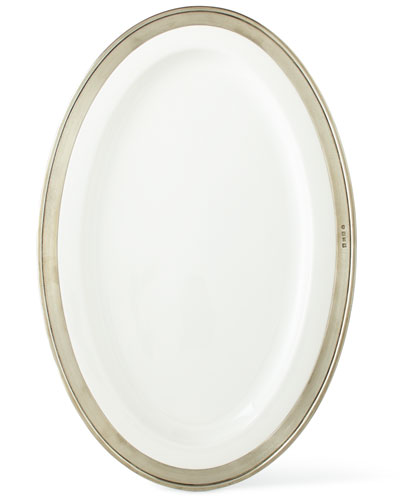 Convivio Large Oval Platter