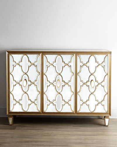 Arabesque Mirrored Console