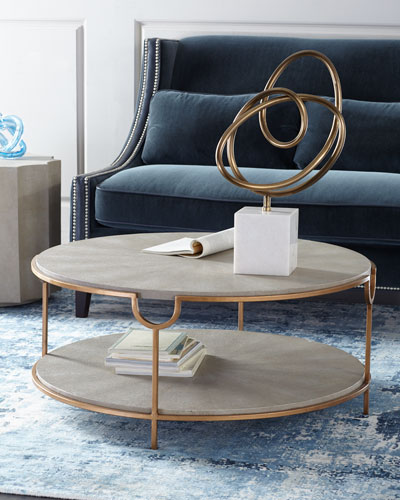 Chaz Tiered Coffee Table